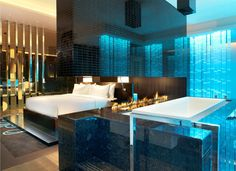 Extreme WOW suite @ W Hotel Taipei, Taiwan. A... #suitemeup