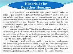 Resultado de imagen para desarrollo histórico de los derechos humanos
