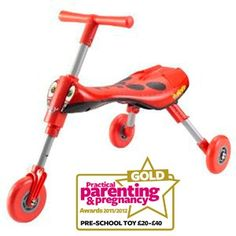 12 Best Ride on Toys for Toddlers - Schylling Scuttlebug Lady Bug Ride On
