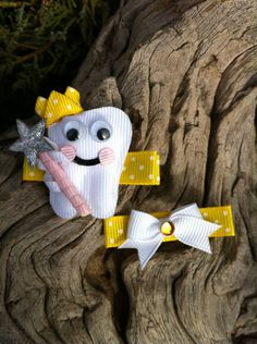 Tooth Fairy Ribbon Sculpture Set by patyg13 on Etsy, $5.50