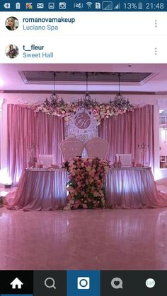 Excellent simple ideas for your inspiration Quinceanera Decorations, Reception Decorations, Event Decor, Wedding Centerpieces, Floral Wedding, Diy Wedding, Wedding Events, Dream Wedding, Wedding Ideas