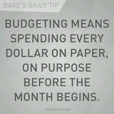 Dave Ramsey changed my life!                                                                                                                                                                                 More