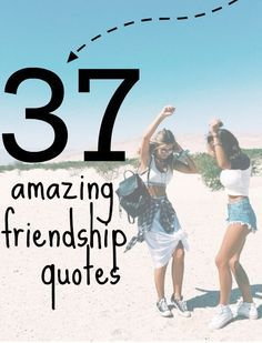 The BEST friendship quotes to share with your bestie. #quotes #friendship