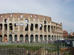 Maeniana Levels Of The Colosseum Roma Amphitheatrum