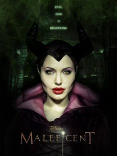 Disney just released the first teaser trailer for the highly anticipated Maleficent, starring a wicked-looking Angelina Jolie as the infamous villainess and Elle Fanning as the cursed Princess Auro… Angelina Jolie Maleficent, Maleficent 2014, Maleficent Movie, Malificent, Film 2014, Movies 2014, Hd Movies, Disney S, Disney Movies
