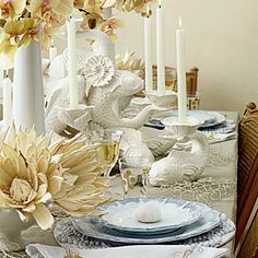 8 Looks for Your Holiday Table | Sea Scene | CoastalLiving.com