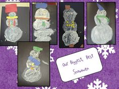 How to make a textured snowman -  Pinned by @PediaStaff – Please Visit http://ht.ly/63sNt for all our pediatric therapy pins