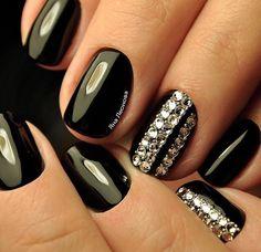 Nails Swarovski