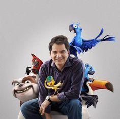 Carlos-Saldanha - Apesar de não ter iniciado sua carreira cinematográfica no Brasil, Saldanha se destaca por suas animações de sucesso, como Era do Gelo 1,2,3,4 5 e Rio 1 e 2.