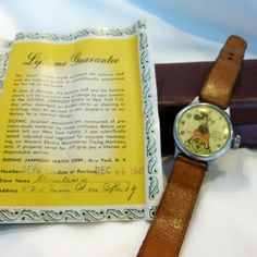 RARE FIRST 1945 Mickey Mouse Wrist Watch Manufactured by Waterbury/Ingersoll Company on Etsy, $149.99