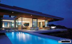 villa luxe avec piscine et #terrasse bois