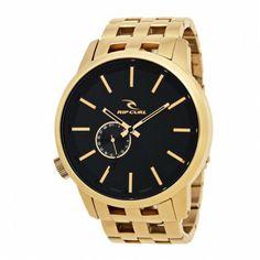 rip curl detroit gold watch via Urbanicon.co.id Urban Icon, Rip Curl, Gold Watch, Detroit, Curls, Watches, Accessories, Style, Swag