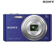 Sony Cyber-shot 16.1MP 720p 8x Zoom Digital Camera