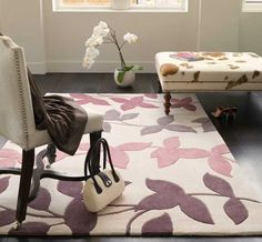 Harlequin - HA10-023 Vine Pink Rugs | Modern Rugs