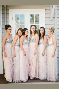 cf446981e565 Chiffon Bridesmaid Dress, Bridesmaid Dress A-Line, Bridesmaid Dress Pink, Bridesmaid  Dress