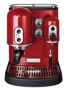 Machine à café de KitchenAid -  LSD Magazine n°2 - Shopping Rouge