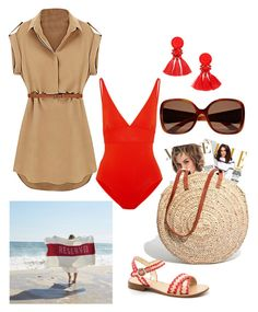 """""""Sans titre #205"""" by jalepe on Polyvore featuring mode, Eres, Sir/Madam et Madewell"""