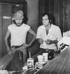 """When They Said 'Sit Down', I Stood Up!"" - Bruce and Stevie 1975"