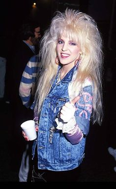 Best Fashion Look : janet gardner - Fashion Diiary - Source For Fashion & Lifestyle Inspiration 80s Hair Metal, Hair Metal Bands, 80s Hair Bands, 80s Big Hair, Big Blonde Hair, 80s Rock Fashion, Metal Fashion, Rock Star Hair, Heavy Metal Girl