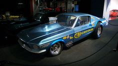 """""""Ohio George""""   Ford 427 SOHC Mustang Gasser"""