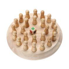 子供木製メモリマッチスティックチェスゲーム子供の早期教育3dパズル