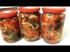 Salata de ghebe(opintici) cu gogosari - Conservare la borcan - YouTube Health Snacks, Dental Health, Mason Jars, Youtube, Blog, Recipes, Salads, Oral Health, Healthy Snack Foods