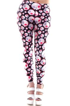 Fashion Sexy Cool Skullcandy Women Legging Pants Plus Size Tinghts Teen Leggings, Skull Leggings, Sports Leggings, Leggings Are Not Pants, Tights, Living Dead Clothing, Cool Outfits, Fashion Outfits, Fashion Clothes