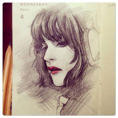 Mini-update + a lil' daily sketch dump by Qinni on DeviantArt