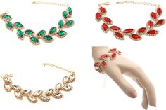 Sparkly diamante rhineston gold tone bracelets adjustable proms brides 0327
