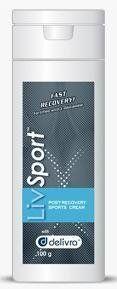 LivSport Post Workout Cream With Glutamine (100g) LivRelief Brand: LivDerma by LivDerma