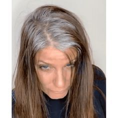 Hair Beauty - Jack Martin jackmartincolorist Box Dye Color Correction All Over Gray Silver Granny Gray Back To Gray Brunette Before Grey Hair Video, Grey Hair Transformation, Gray Hair Highlights, Gray Highlights Brown Hair, Platinum Highlights, Platinum Hair Color, Platinum Blonde, Gray Hair Growing Out, Transition To Gray Hair