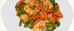Mmmm prueba esta receta para preparar unos riquísimos langostinos con setas. #receta #nutrición #langostino