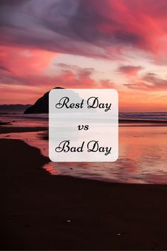 rest day, bad day, ME, CFS, chronic illness