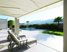Fabric Awnings & External Sunscreens