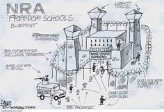 NRA School Plan - Wayne LaPierre Elementary