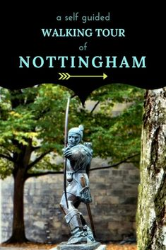 A free self guided walking tour of Nottingham - one of Englands oldest and prettiest cities. See the sights, learn about it's history and notable residents and visit some well known land marks but also some hidden gems. #Nottingham #WalkingTour #HiddenGems #BestEngland