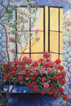Home sweet home/ Original oil painting on by StudioMikiKarni