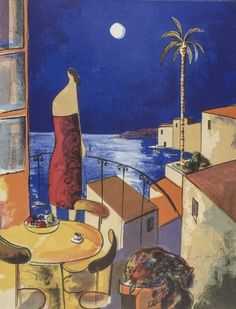 Didier Lourenço | Mujer y luna