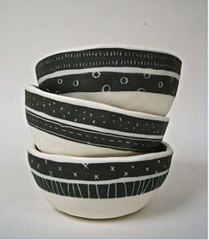 Beautiful bowls by Rae Dunn
