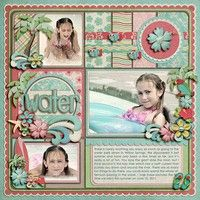 A Project by KayM from our Scrapbooking Gallery originally submitted 07/08/11 at 07:43 PM