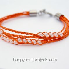 Layered Wish Bracelet- tutorial- I think I could do this!