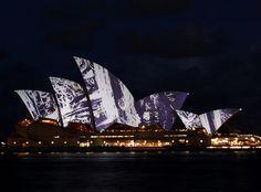 Sydney Opera House Lights   #Australia