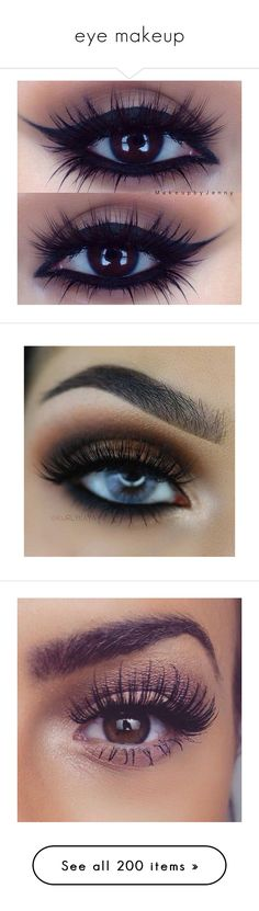 """""""eye makeup"""" by amparo1993 ❤ liked on Polyvore featuring eyeshadow, eyemakeup, beauty products, makeup, eye makeup, eyes, beauty, makes, urban decay and urban decay cosmetics"""