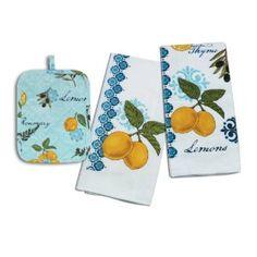 Lemons Theme For A Yellow U0026 Ble Kitchen