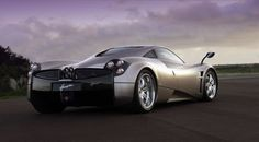 """Pagani Huayra: $1.3 million  The Huayra (why-rah) is named after the Inca's """"God of Winds"""". The name suits the car well, as it's among the fastest cars in the world. The twin-turbo Mercedes-AMG 60° 6.0 liter V-12 engine produces 730 horsepower, 231 mph, and the quick acceleration time of 0–97mph in 3.3 seconds. The Italian automaker added gull-wing doors to the super-car."""