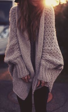 Warm en soft. AND oversized.