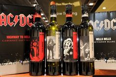 AC/DC crea vinos con el nombre de sus canciones