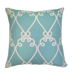 Get the look in this Garden Gathering with this Linen Embroidery Pillow! http://restylesource.com/garden-gathering/