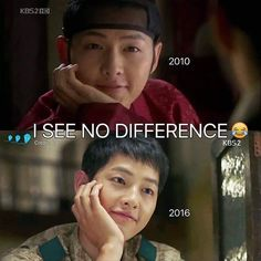 how does he look the same after 6 years? Song Joong Ki in SungKyunKwan Scandal and Descendants of the Sun ~ still him Korean Drama Quotes, Korean Drama Movies, Korean Actors, Korean Celebrities, Park Hae Jin, Park Seo Joon, Song Joong, Song Hye Kyo, Descendants