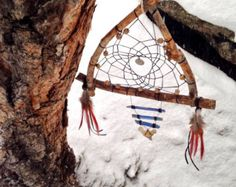 Sacred Vision Dreamcatcher/Raw Kyanite/Real Shark Tooth/Pheasant Feathers/Natural/Home Decor/Upcycled/Boho/Tribal/Gypsy/Spirit/Native/Yoga - Edit Listing - Etsy